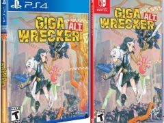 giga alt wrecker retail limited run games ps4 nintendo switch cover limitedgamenews.com