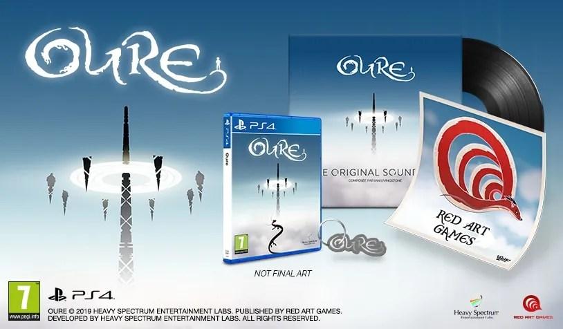 oure collectors edition retail ps4 contents limitedgamenews.com