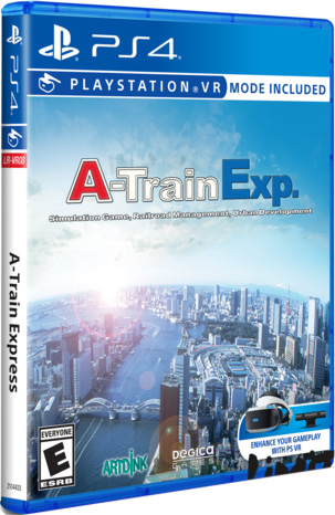a train express retail limited run games ps4 psvr cover limitedgamenews.com