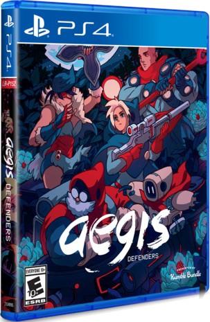 aegis defenders retail limited run games ps4 cover limitedgamenews.com