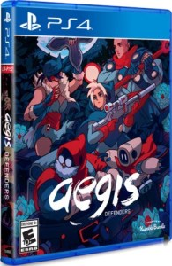 aegis defenders retail limited run games ps4 cover limitedgamenews.com