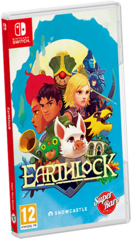 earthlock super rare games standard edition retail nintendo switch cover limitedgamenews.com