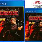 necrosphere deluxe retail strictly limited games ps4 ps vita cover limitedgamenews.com
