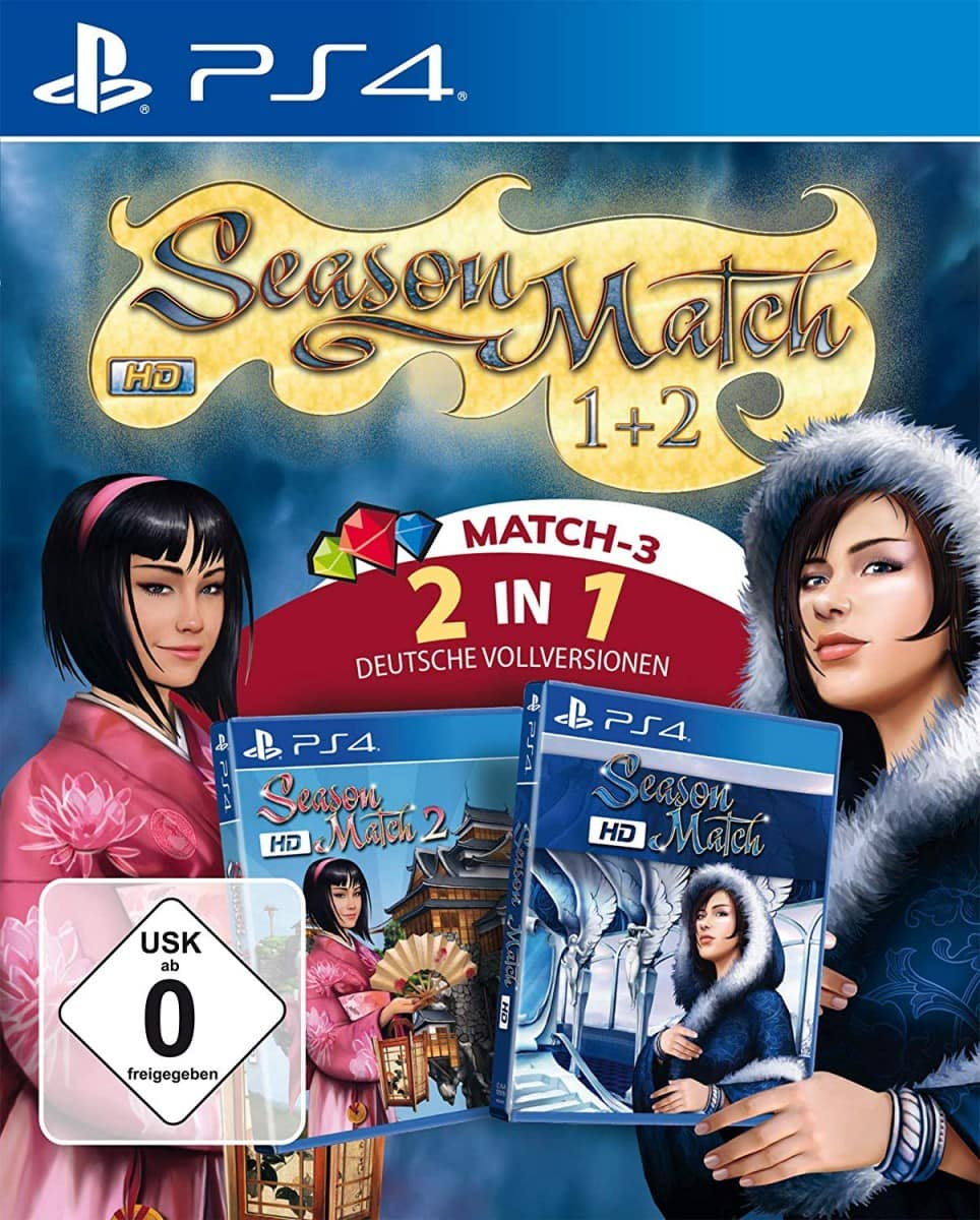 Season Match HD 1 + 2 for Nintendo Switch & PS4 - Limited Game News