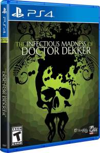 the infectious madness of doctor dekker retail limited run games ps4 cover limitedgamenews.com
