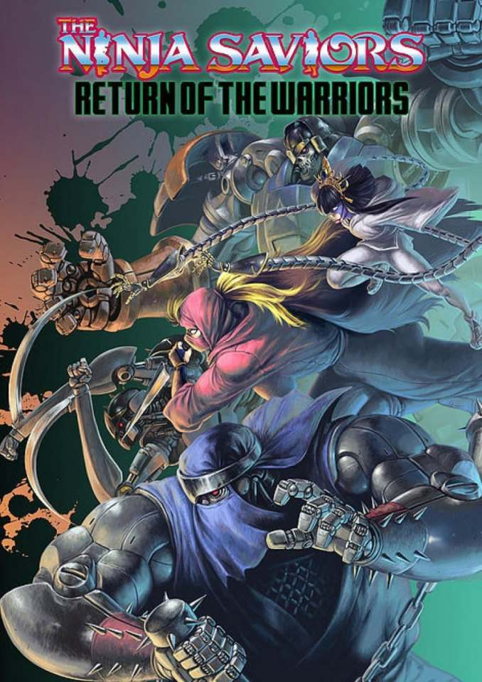 the ninja saviors return of the warriors retail asia multi-language nintendo switch ps4 preliminary cover art limitedgamenews.com