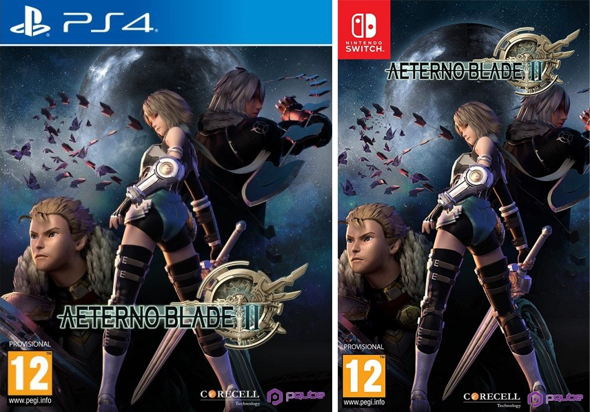 aeternoblade ii retail ps4 nintendo switch cover limitedgamenews.com
