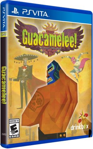 guacamelee retail limited run games ps vita cover limitedgamenews.com