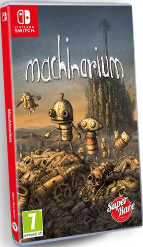 machinarium retail super rare games nintendo switch cover limitedgamenews.com