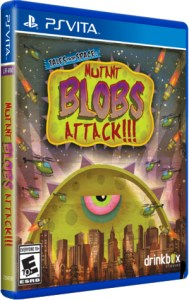 mutant blobs attack retail limited run games ps vita cover limitedgamenews.com