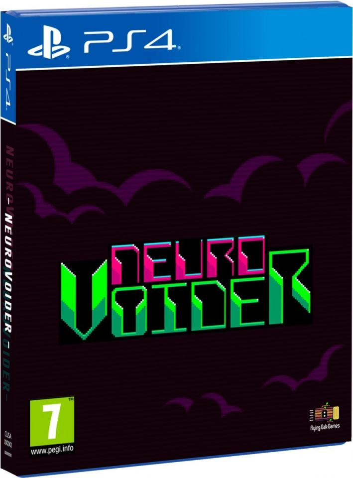 neurovoider retail redartgames ps4 cover limitedgamenews.com