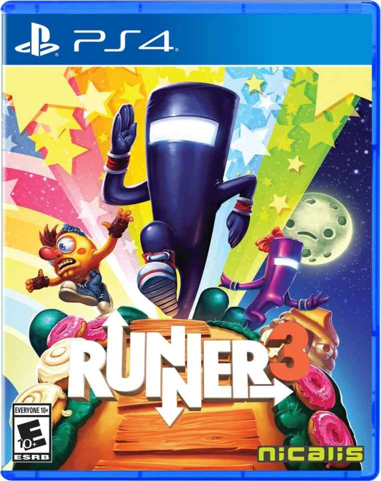 runner3 retail nicalis ps4 cover limitedgamenews.com