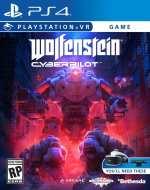 wolfenstein cyberpilot ps4 psvr cover limitedgamenews.com