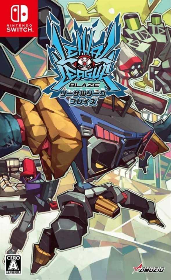 lethal league blaze asia multi-language retail nintendo switch cover limitedgamenews.com