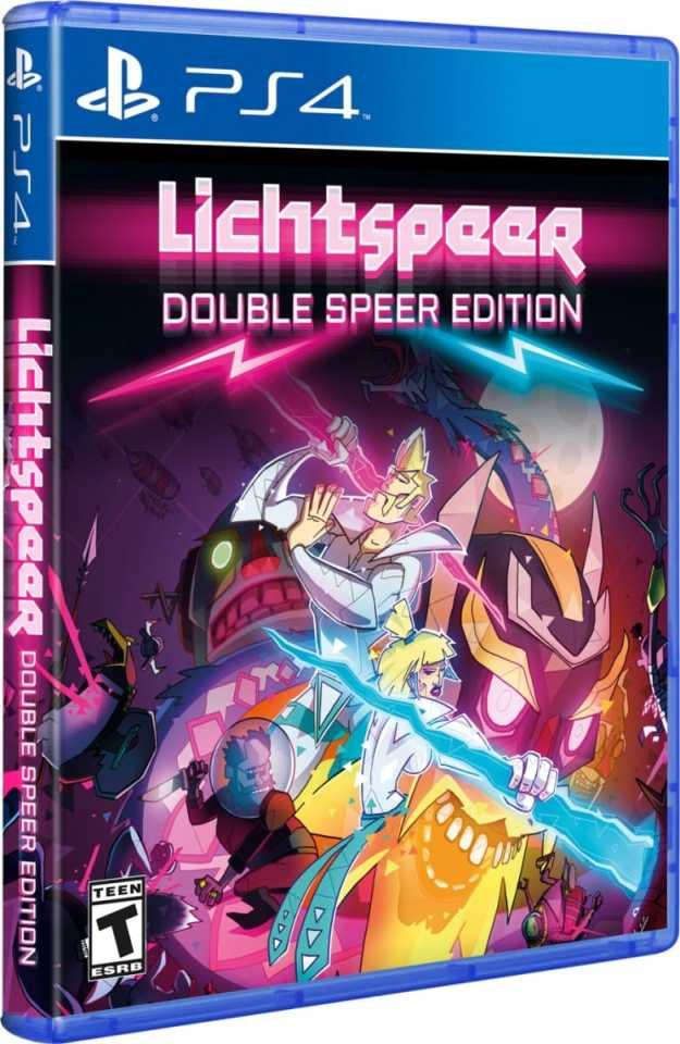lichtspeer retail hard copy games ps4 cover limitedgamenews.com
