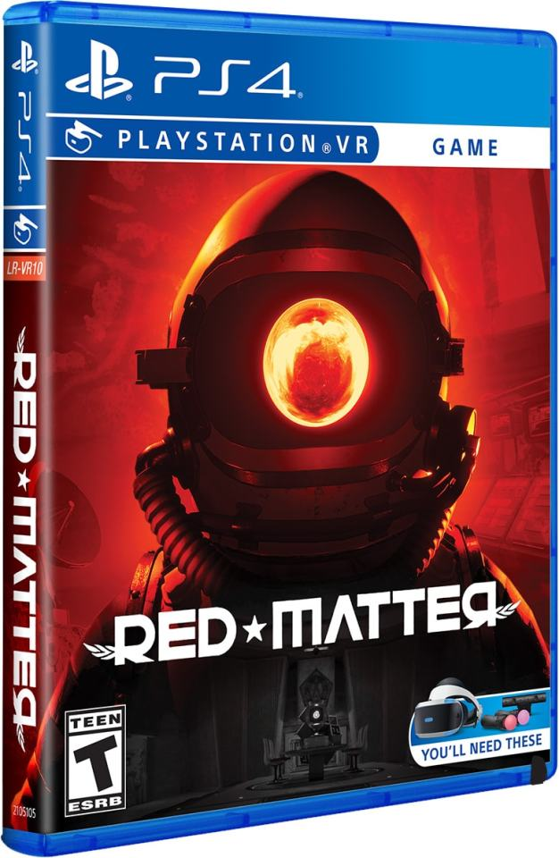 red matter retail limited run games ps4 psvr cover limitedgamenews.com