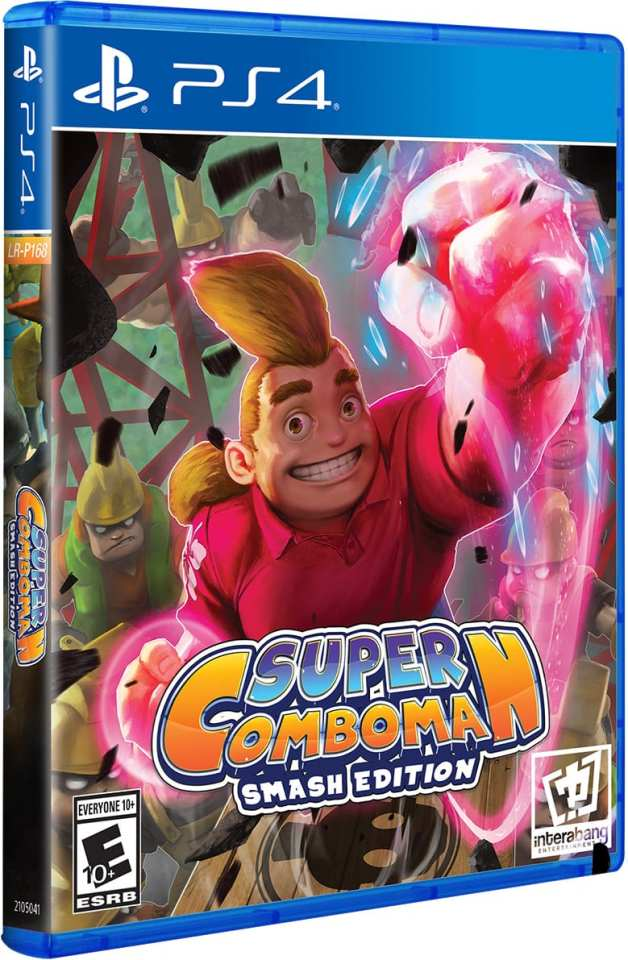 super combo man smash edition retail limited run games ps4 cover limitedgamenews.com