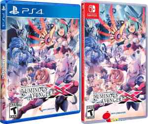 gunvolt chronicles luminous avenger ix physical release standard edition limited run games ps4 nintendo switch cover limitedgamenews.com