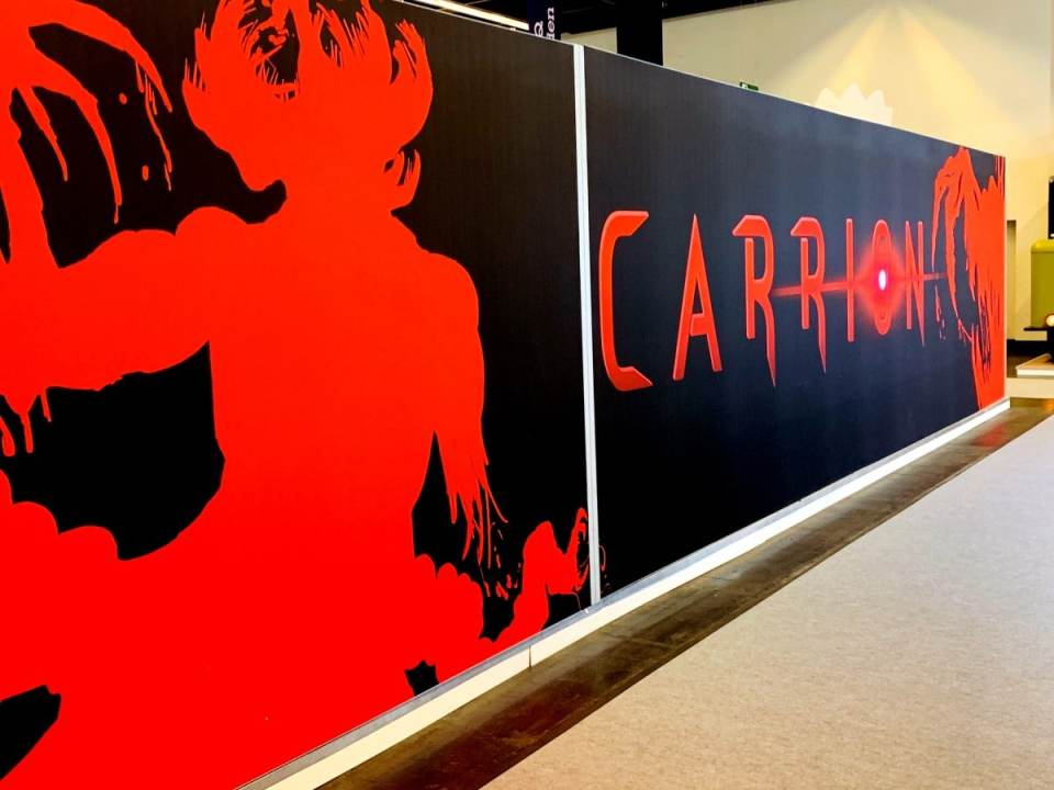 lgn con report gamescom 2019 devolver digital carrion booth limitedgamenews.com