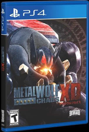 metal wolf chaos physical release special reserve games ps4 cover limitedgamenews.com