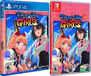 river city girls physical release limited run games ps4 nintendo switch cover limitedgamenews.com