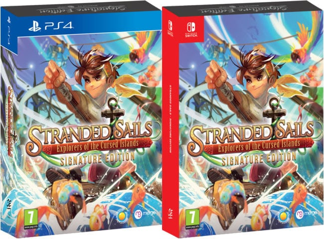 stranded sails explorers of the cursed islands retail signature edition games ps4 nintendo switch cover limitedgamenews.com