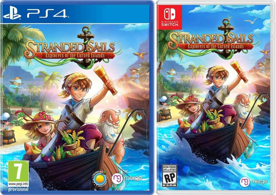 stranded sails explorers of the cursed islands retail standard edition ps4 nintendo switch cover limitedgamenews.com