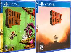 elliot quest physical release hard copy games ps4 cover (normal and variant) limitedgamenews.com