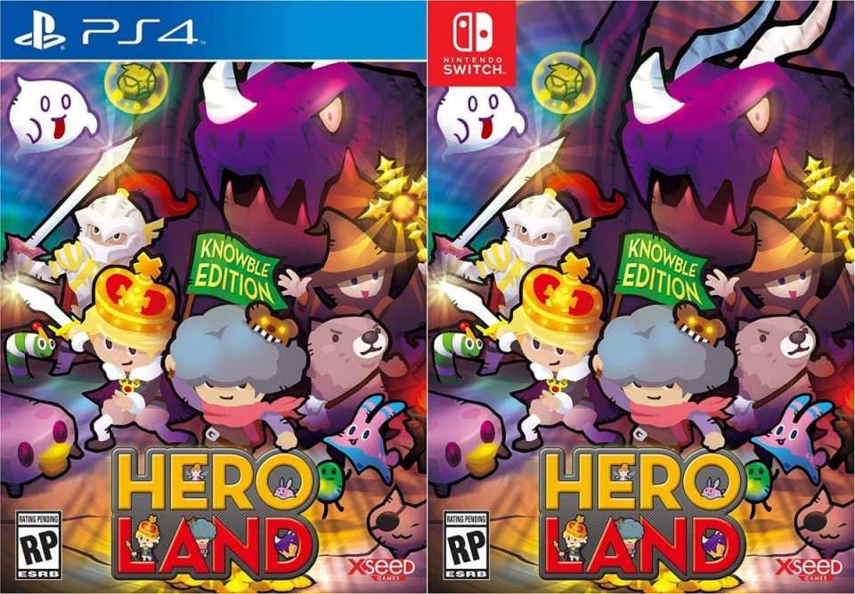 heroland knowble edition-retail release ps4 nintendo switch cover limitedgamenews.com