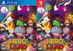 heroland knowble edition-retail release ps4 nintendo switch cover limitedgamenews.com