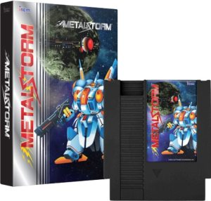 metal storm physical release limited run games nintendo nes cover limitedgamenews.com