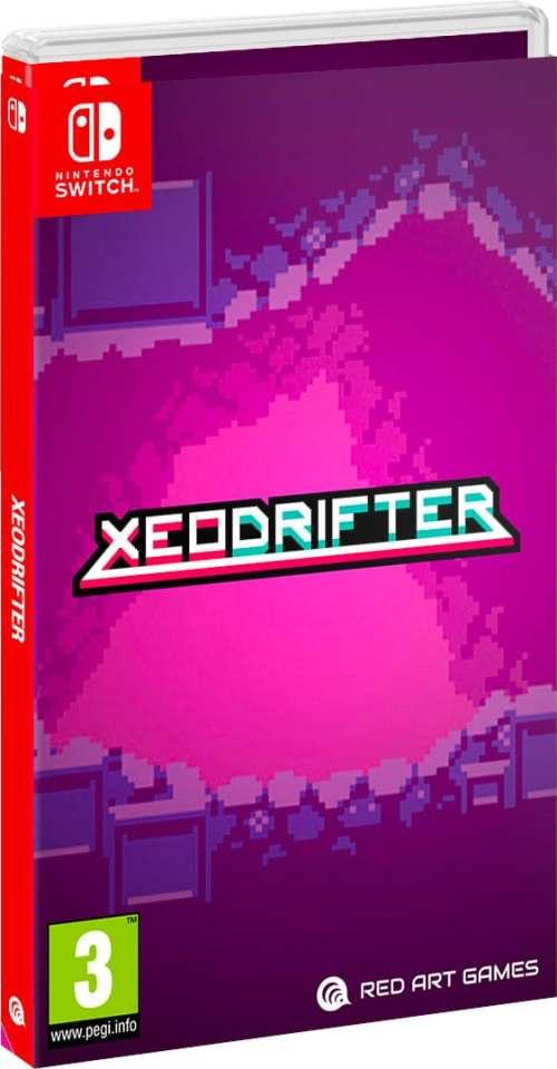 xeodrifter physical release redartgames nintendo switch cover limtiedgamenews.com