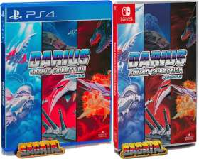 darius cozmic collection console physical release strictly limited games standard edition ps4 nintendo switch cover limitedgamenews.com