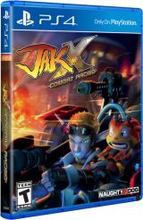 jak x combat racing physical release limited run games standard edition ps4 cover limitedgamenews.com