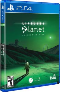lifeless planet physical release limited run games ps4 cover limitedgamenews.com