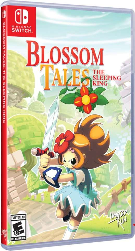 blossom tales the sleeping king physical release limited run games nintendo switch cover limitedgamenews.com
