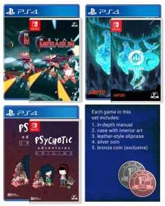 first press games december 2019 triple pre-order set retail ps4 nintendo switch cover limitedgamenews.com