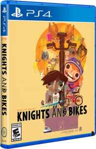 knights and bikes physical release limited run games ps4 cover limitedgamenews.com