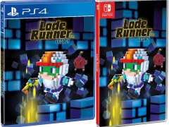 lode runner legacy phyiscal release strictly limited games standard edition ps4 nintendo switch cover limitedgamenews.com