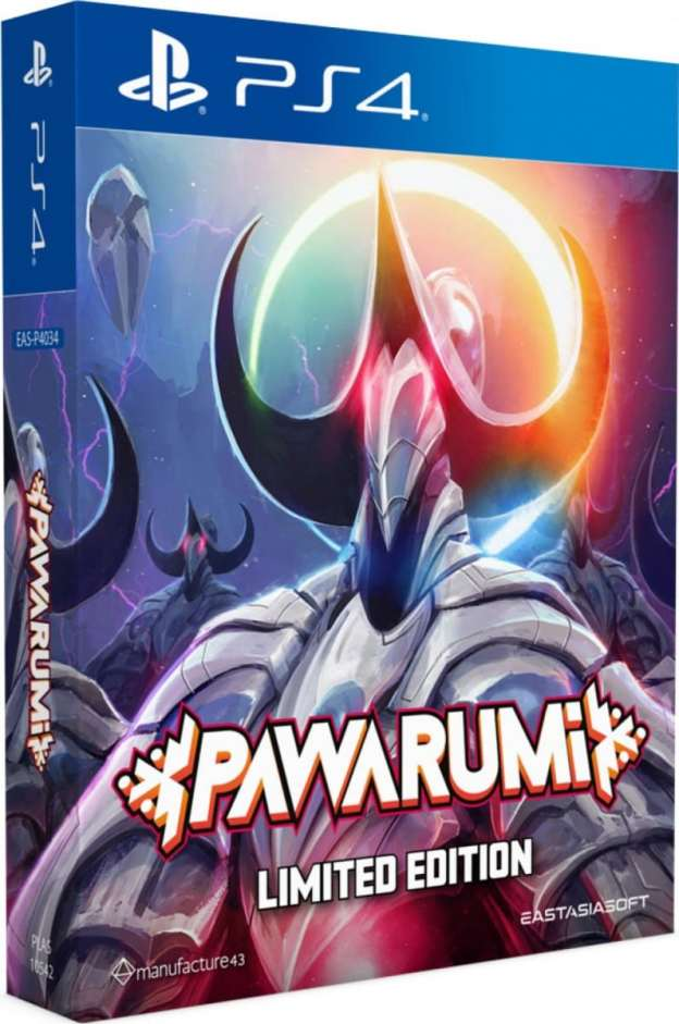 pawarumi limited edition physical release eastasiasoft play exclusives ps4 cover limitedgamenews.com