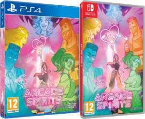 arcade spirits retail release pqube ps4 nintendo switch cover limitedgamenews.com