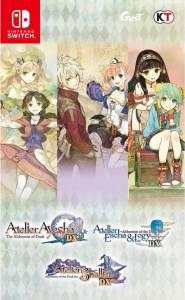 atelier dusk trilogy deluxe pack asia multi-language release nintendo switch english cover limitedgamenews.com