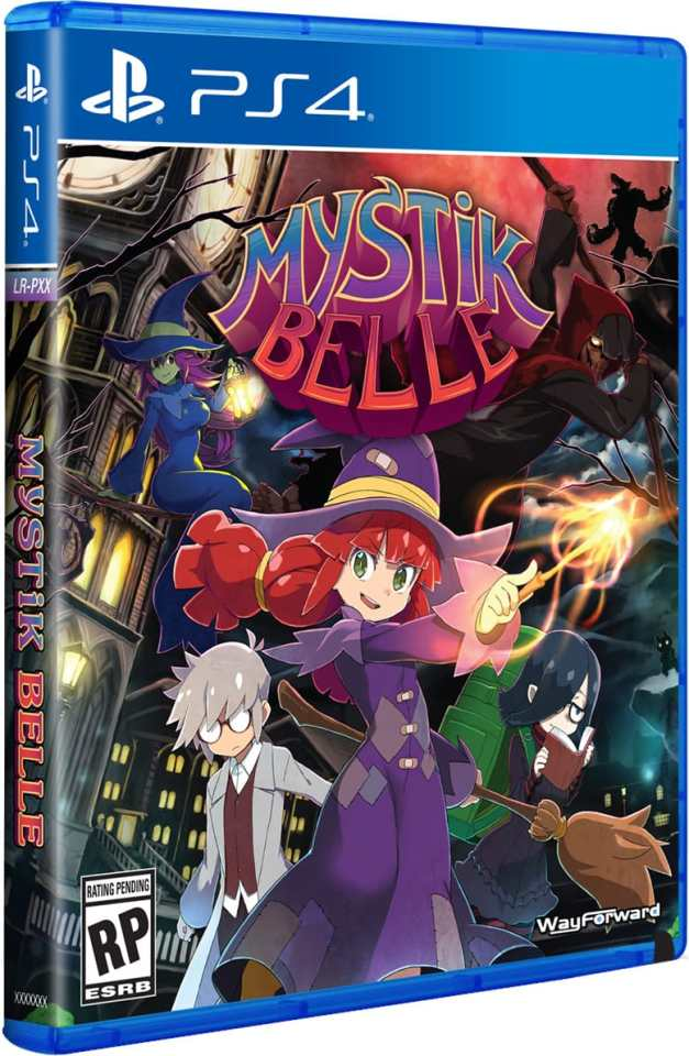 mystik belle physical release limited run games ps4 cover limitedgamenews.com