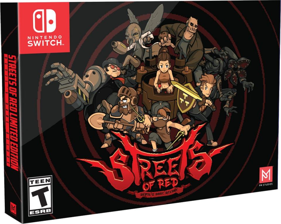 streets of red physical release collectors edition pm studios limited run games nintendo switch cover limitedgamenews.com