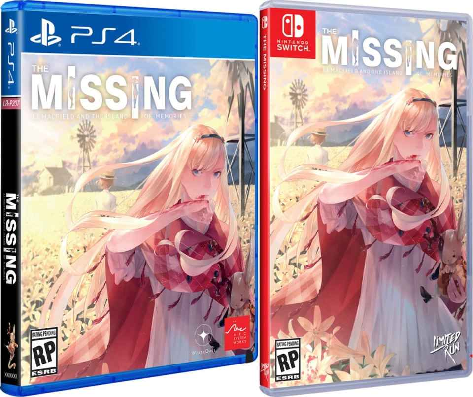 the missing j j macfield and the island of memories standard edition physical release limited run games ps4 nintendo switch cover limitedgamenews.com