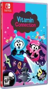 vitamin connection physical release limited run games standard edition nintendo switch cover limitedgamenews.com