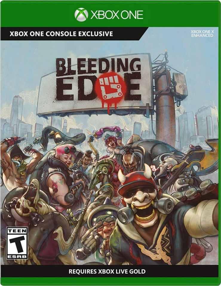 bleeding edge retail release xbox one cover limitedgamenews.com