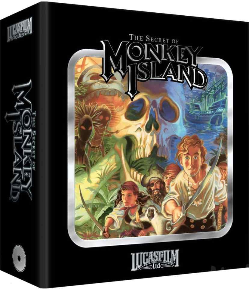 the secret of monkey island physical release limited run games premium edition sega cd cover limitedgamenews.com