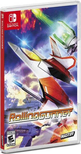 rolling gunner standard edition physical release physicality games nintendo switch cover limitedgamenews.com