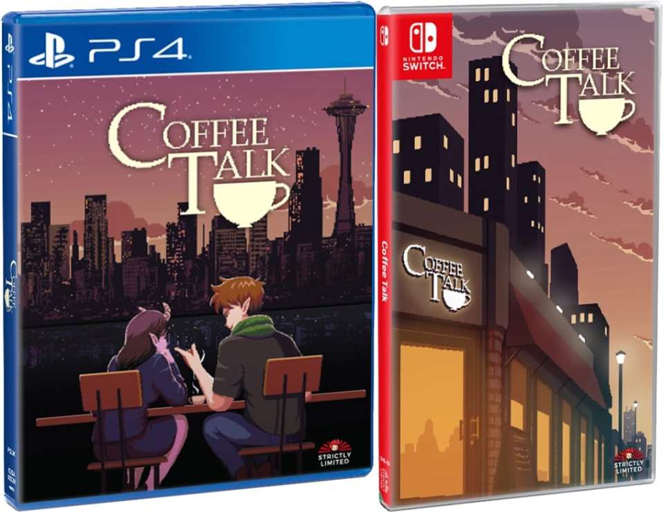 coffee talk standard edition physical release strictly limited games ps4 nintendo switch cover limitedgamenews.com